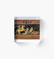 Amazons: Black Acrylic Block