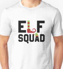Elf Squad Funny Christmas Gift Unisex T-Shirt