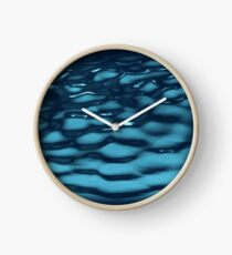 Blue Water Clock