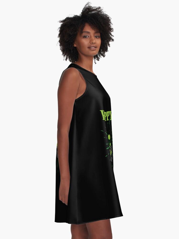 Vista alternativa de Vestido acampanado Horror Witch Enchantress Potion Halloween Funny Gift