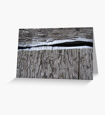 Crevice  Greeting Card