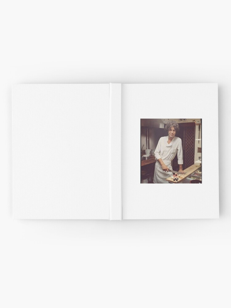 Alternative Ansicht von Anthony Bourdain Chefkoch Notizbuch
