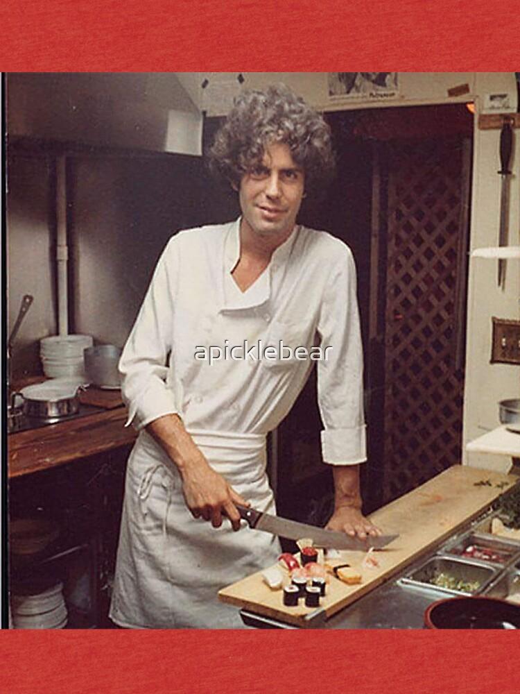 Anthony Bourdain Chefkoch von apicklebear