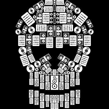 Skull Dj Equipment | Music Instruments Techno by anziehend