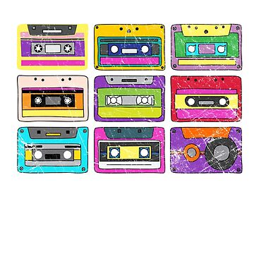 Born In The 80s But 90s Made Me Vintage Cassettes by majuga
