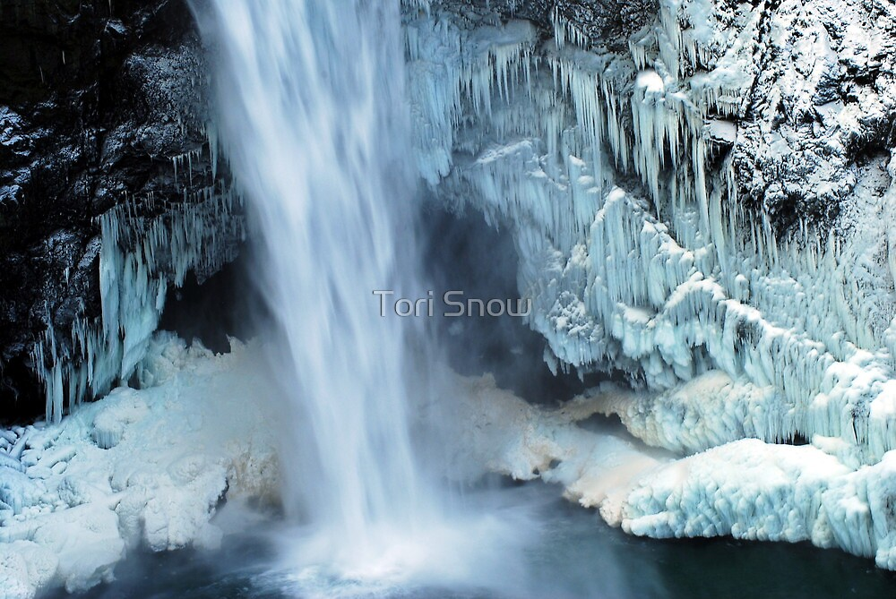 Frozen Winter Falls by Tori Snow