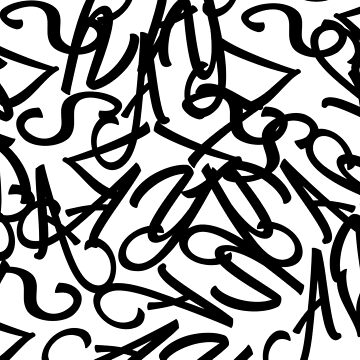 Text Pattern by GeometricLove