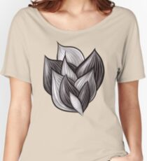Abstract Dynamic Shapes Women's Relaxed Fit T-Shirt