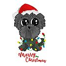 Havanese Puppy Christmas by orichalbaud