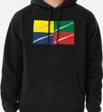 MUSICAL INSTRUMENTS SILHOUETTES - FLUTE Pullover Hoodie 437a924f587ce