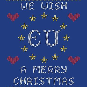 We Wish EU A Merry Christmas by JezWeCan