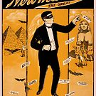 Vintage poster - Newmann the Great by mosfunky