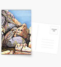 A Boulder Face Postcards