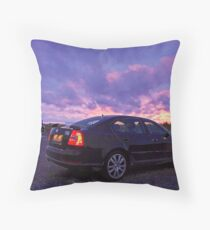 Ravenmobile at Sunset Throw Pillow