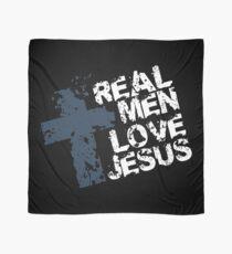 Echte Männer lieben Jesus Tuch