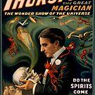Vintage poster - Thurston the Magician by mosfunky