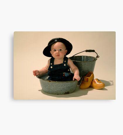 Little Dutch Boy Canvas Print