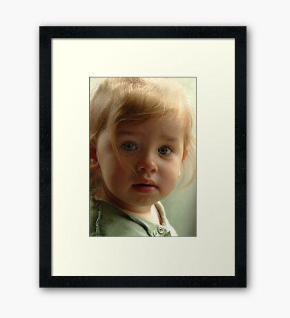Imp Framed Print