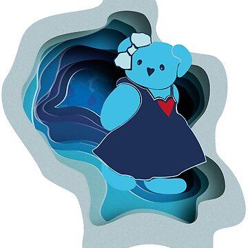 teddy bear by IrenaW