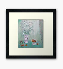 Study in Green By Peter Jackson Hay. Framed Print