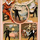 Vintage poster - Magician Advertisement by mosfunky