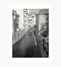 Little Venice. Art Print