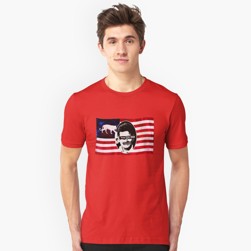 God Save The Sheen Unisex T-Shirt Front
