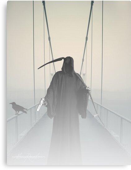 Grim Reaper This Way Comes by Adara Rosalie