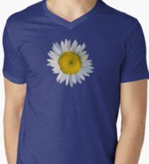 Crazy daisy Mens V-Neck T-Shirt