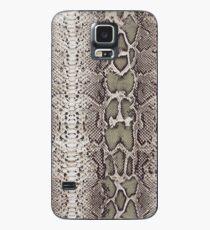 Funda/vinilo para Samsung Galaxy Piel de serpiente