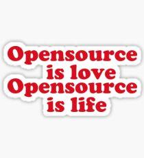 opensource Sticker