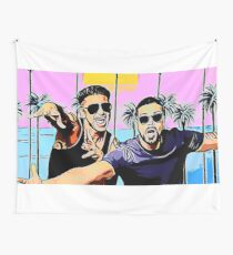 Pauly D & Vinny G Wall Tapestry