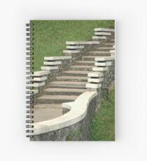 stair Spiral Notebook