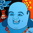 Happy Buddha  by Mirjam Griffioen