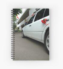 wedding car Spiral Notebook