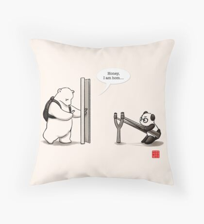 Panda Attack Floor Pillow