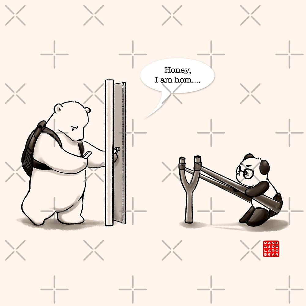 Panda Attack by Panda And Polar Bear