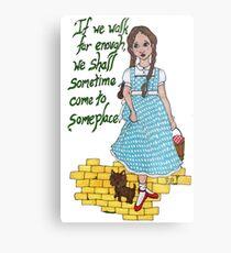 Dorothy in Oz Metal Print