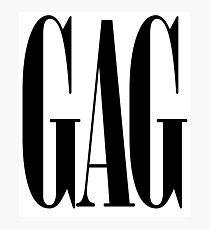 Gag Werk Gawd Yass Queen Drag Meme Catchphrase Queer Pride Sassy Fierce Photographic Print