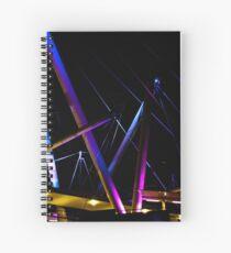 Kurilpa Lights Spiral Notebook