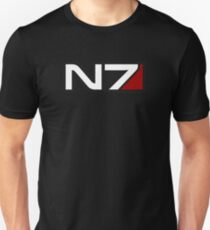 N7 emblem, Mass Effect Unisex T-Shirt