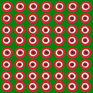 Christmas Evil Eye by laurabethlove