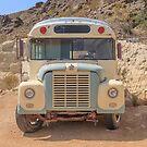 Vintage Bus in the Desert by Edward Fielding