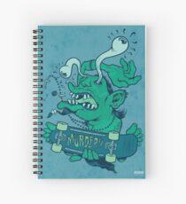 Shredder (subdued color) Spiral Notebook