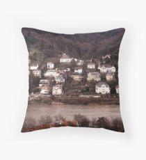Across the Rhein-Neckar Throw Pillow