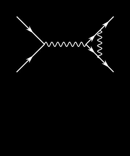Vier-Punkt-Feynman-Diagramm - Teilchenphysik von the-elements