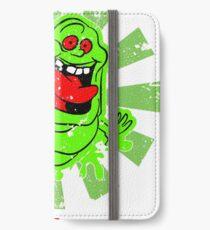 Slimer Retro Japanese Ghostbusters iPhone Wallet/Case/Skin
