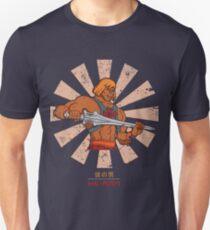 Er Mann Retro Japaner Slim Fit T-Shirt