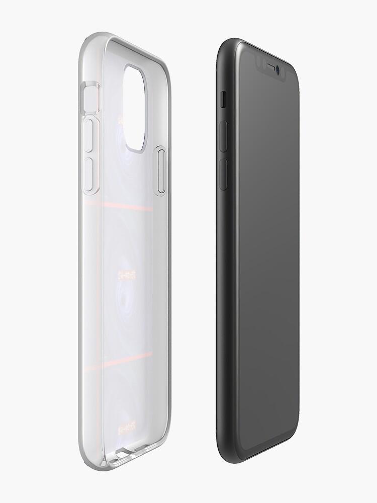 coque transparente xr - Coque iPhone «Trou noir», par william50
