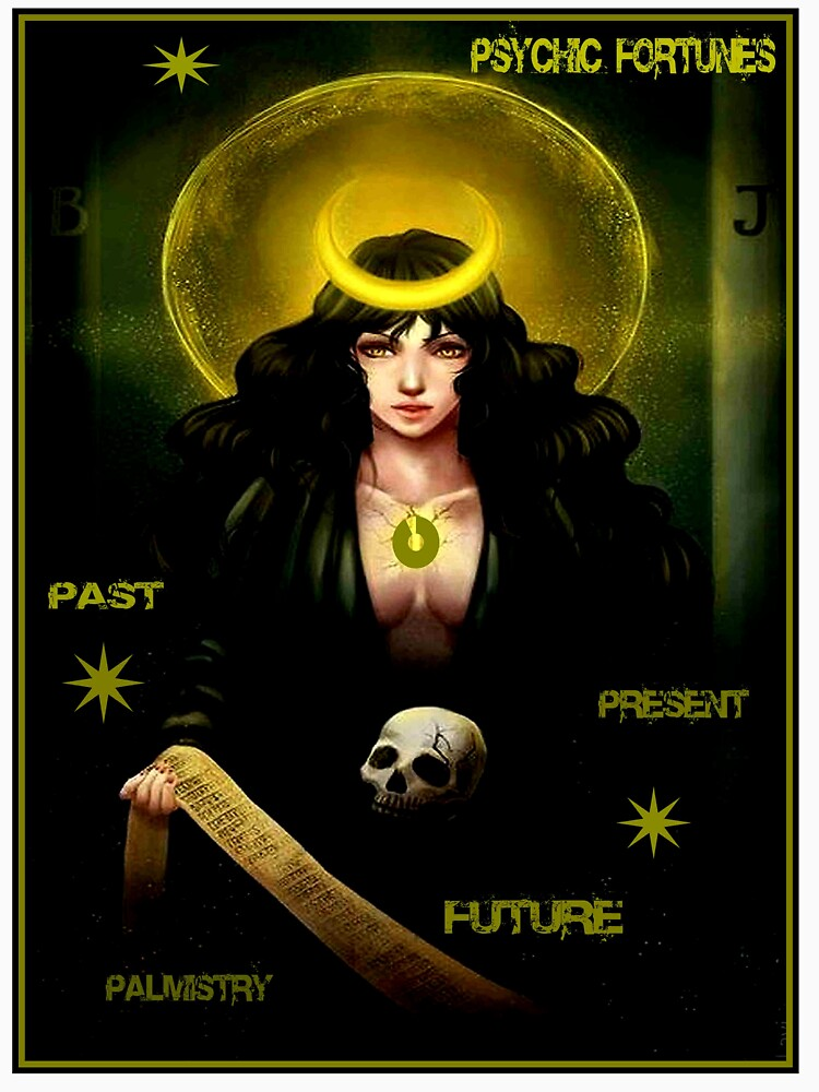 PSYCHIC FORTUNES: Vintage Fortune Teller Print by posterbobs